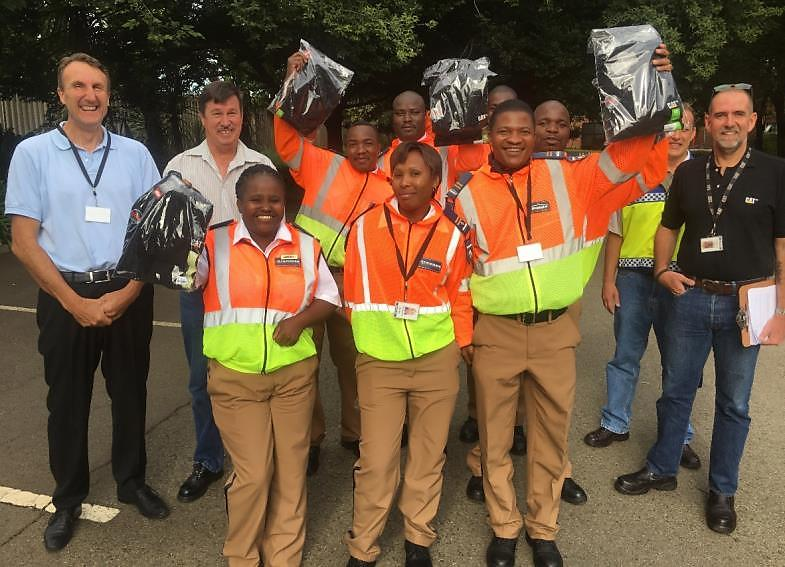 Security Officers with Caterpillar and Thorburn management