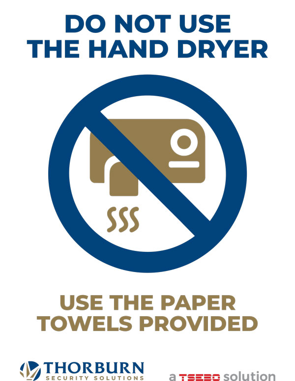 Thorburn Security Services South Africa - Our Values - DO NOT USE THE HAND DRYER